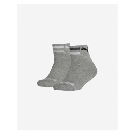 Puma Kids Socks 2 pairs Grey