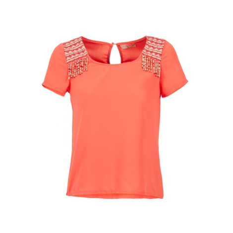 Moony Mood EDENA women's Blouse in Orange