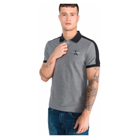 Calvin Klein Polo Shirt Grey