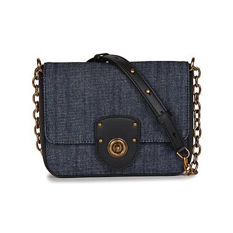 Lauren Ralph Lauren MILBROOK CHAIN CROSSBODY women's Shoulder Bag in Blue