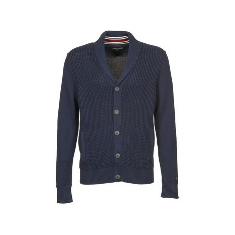 Tommy Hilfiger BARNEY SHAWL CARDI CF men's in Blue