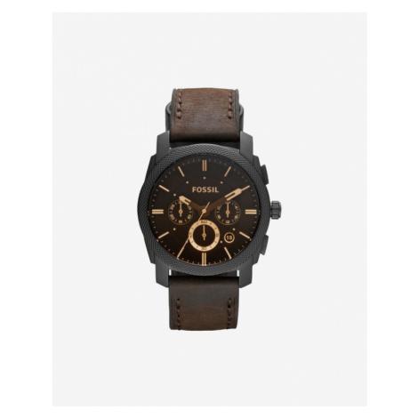 Fossil Machine Watches Black Brown