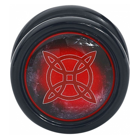 Wildcat Witches Knot Plug Ear Plug black red