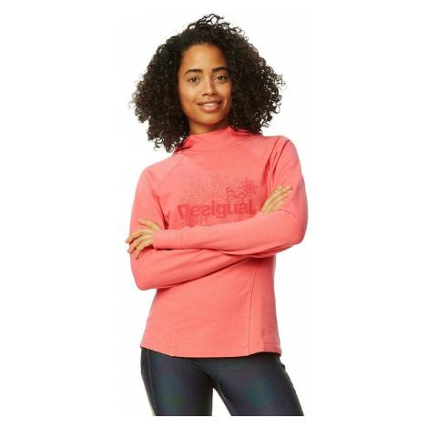 sweatshirt Desigual 18WOSK09/Essential - 3035/Rosa Palo - women´s