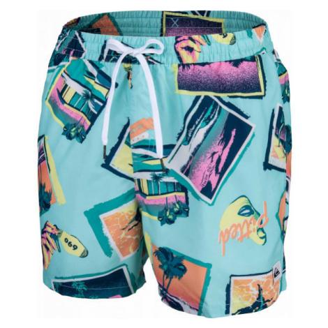 Quiksilver VACANCY VOLLEY 16 blue - Men's swim shorts