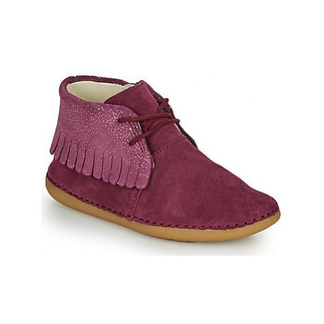 Clarks SKYLARK FORM K girls's Children's Mid Boots in Purple