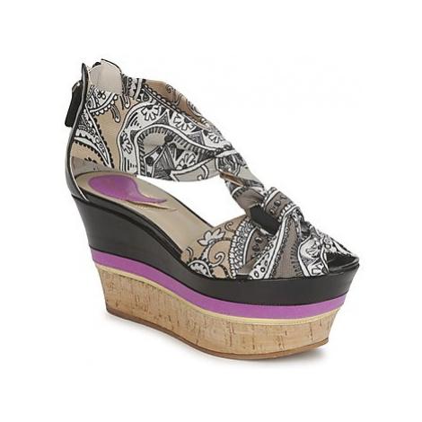 Etro 3467 women's Sandals in Grey