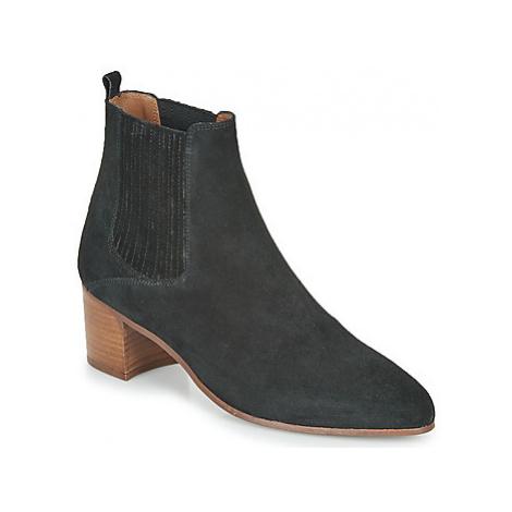 Jonak DEBINA women's Low Ankle Boots in Black