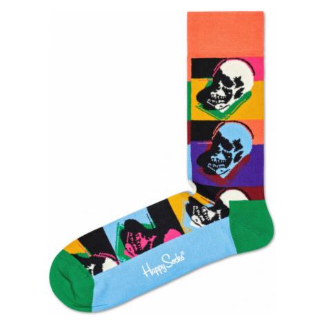 Happy Socks Andy Warhol Skull Socks Colorful