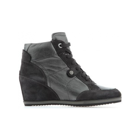 Geox D Illusion D4454A-OKY22-C1G9A women's Shoes (High-top Trainers) in Grey