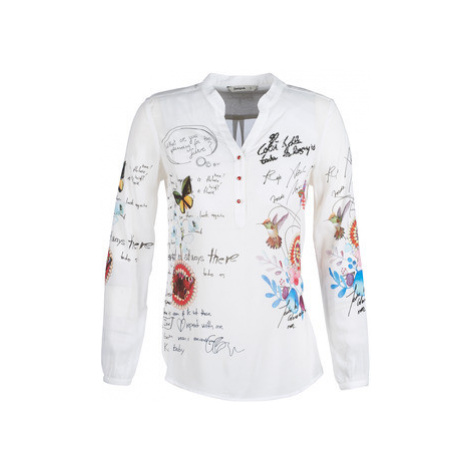 Desigual DANIELA women's Shirt in White