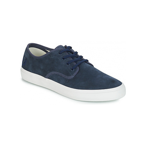 Fred Perry MERTON SUEDE men's Shoes (Trainers) in Blue