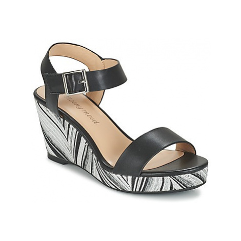 Moony Mood GUECHI women's Sandals in Black