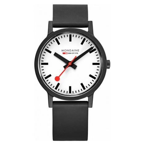 Mens Mondaine Swiss Railways Essence 41mm Watch MS1.41110.RB