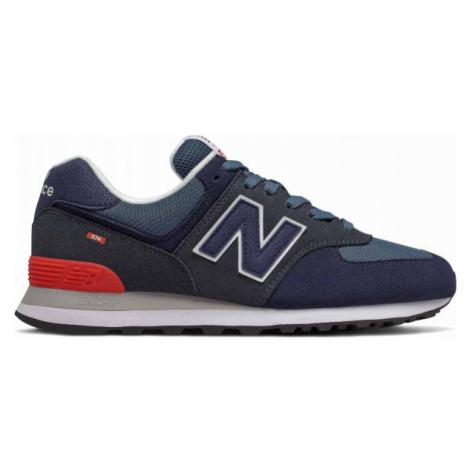 New Balance ML574EAE blue - Men's leisure shoes