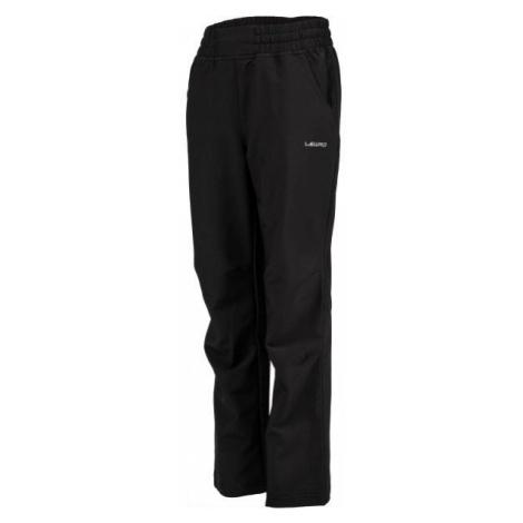 Lewro PERSIS black - Kids' softshell trousers