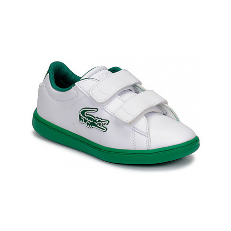 Lacoste CARNABY EVO 319 1 SUI girls's Children's Shoes (Trainers) in White