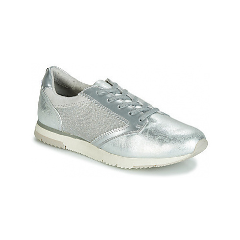 Tamaris CONSTANZE women's Shoes (Trainers) in Silver