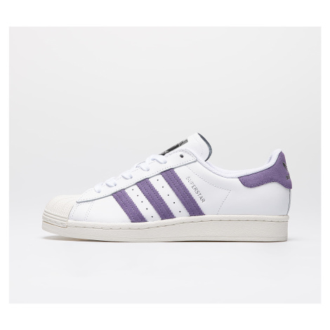 adidas Superstar W Ftw White/ Tech Purple/ Off White