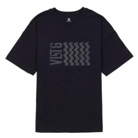 Converse VLTG OVERSIZED SHORT SLEEVE T-SHIRT black - Women's T-shirt