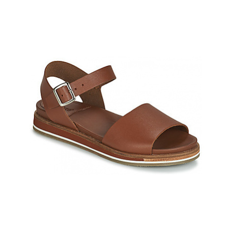 Kickers OLIMPI women's Sandals in Brown