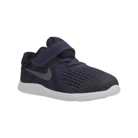 Nike REVOLUTION 4 boys's Children's Shoes (Trainers) in Black