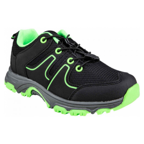 ALPINE PRO THEO black - Kids' outdoor shoes