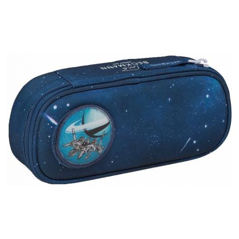 pencil case Beckmann Spaceship Ovál - Dark Blue - boy´s