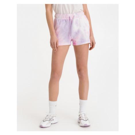 Roxy Magic Hour Tie Dye Shorts Pink