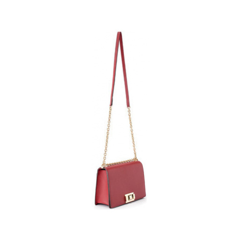 Furla shoulder bag model Mimì S in cherry leather women's Shoulder Bag in Red
