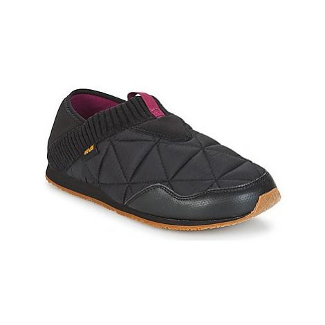 Teva EMBER MOC women's Slip-ons (Shoes) in Black