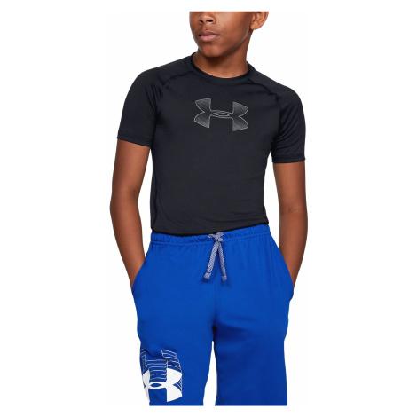 Under Armour HeatGear® Kids T-shirt Black