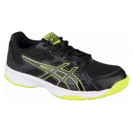 Asics UPCOURT 3 GS black - Children's volleyball shoes