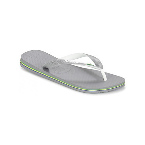 Havaianas BRASIL MIX women's Flip flops / Sandals (Shoes) in Grey