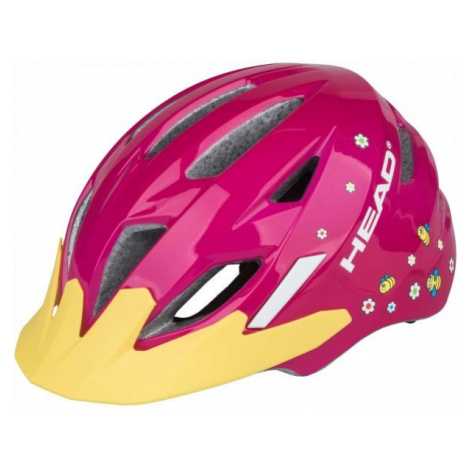 Head KID Y11A pink - Kids' cycling helmet