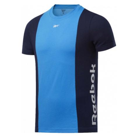 Reebok TE LL SS BLOCKED TEE - Men's T-Shirt