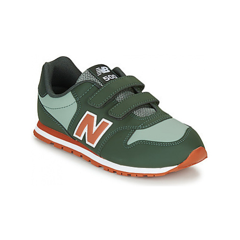 New Balance 500 boys's Children's Shoes (Trainers) in Green