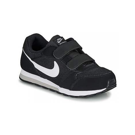 Nike MD RUNNER 2 PRE-SCHOOL girls's Children's Shoes (Trainers) in Black