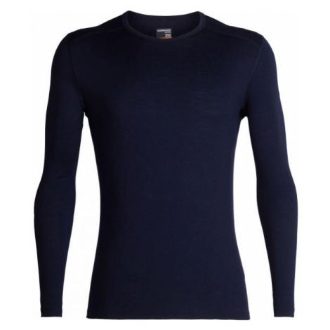 Icebreaker 200 OASIS LS CREWE blue - Men's functional T-shirt Icebreaker Merino