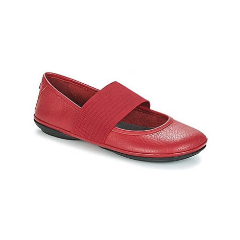 Camper RIGHT NINA women's Shoes (Pumps / Ballerinas) in Red