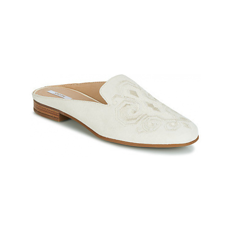 Geox D MARLYNA women's Mules / Casual Shoes in Beige