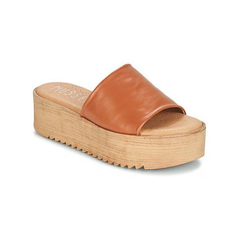 Musse Cloud KENDRIA women's Mules / Casual Shoes in Brown Musse & Cloud