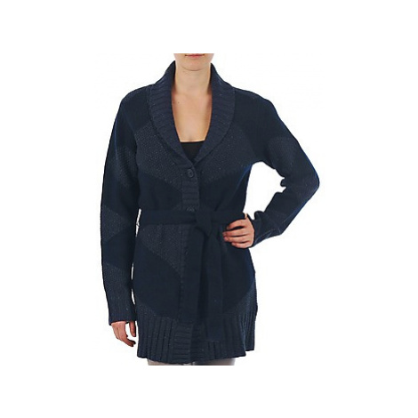 Gant N.Y. DIAMOND SHAWL COLLAR CARDIGAN women's in Blue