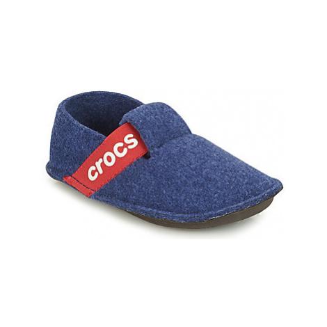 Crocs CLASSIC SLIPPER K girls's Children's Slippers in Blue