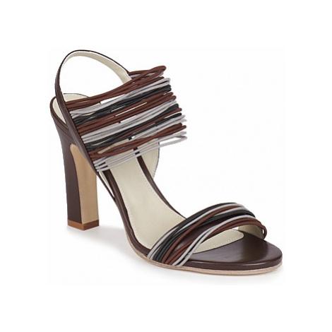 Jil Sander JS16121 women's Sandals in Brown