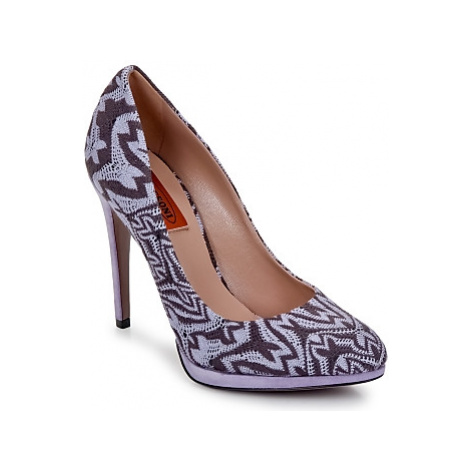 Missoni SM113 women's Court Shoes in Purple