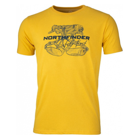 Northfinder DEWIN yellow - Men's T-Shirt