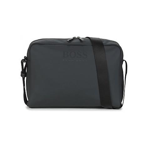 BOSS HYPER MESSENGER ZIP men's Messenger bag in Black Hugo Boss