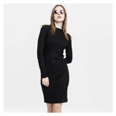 Urban Classics Ladies Rib Dress black
