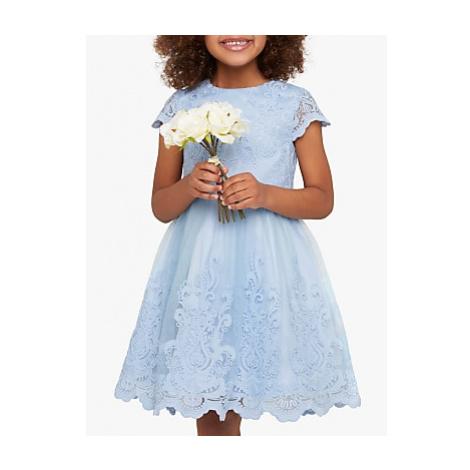 Chi Chi London Girls' Rhiannon Dress, Light Blue